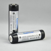 Keeppower 18650 2200 mAh (внутри Sanyo)