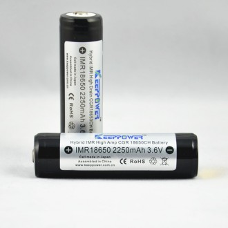 KEEPPOWER IMR18650 2250 mAh