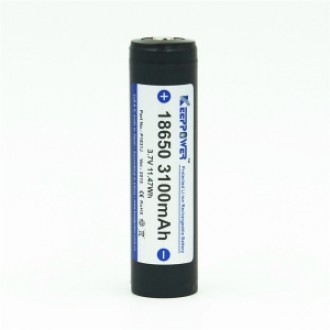 KEEPPOWER 18650 3100 mAh (внутри Panasonic)
