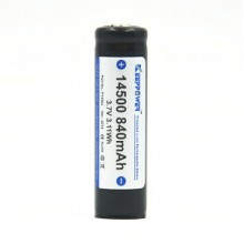 KEEPPOWER 14500 840 mAh (внутри Sanyo)