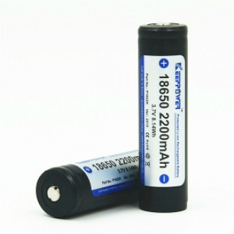 KEEPPOWER 18650 2200 mAh (внутри Samsung)