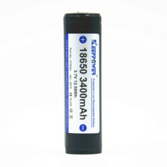 KEEPPOWER 18650 3400 mAh (внутри Panasonic)
