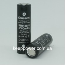 KEEPPOWER IMR18650 3500 mAh - 10А