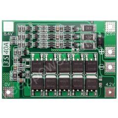 Плата защиты PCM-3S-FL40A (для 3-х li-ion с балансировкой)