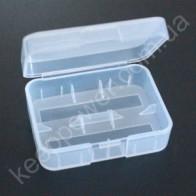 Пластиковый бокс для 2x18500/18350