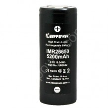 KEEPPOWER IMR26650 5200mAh