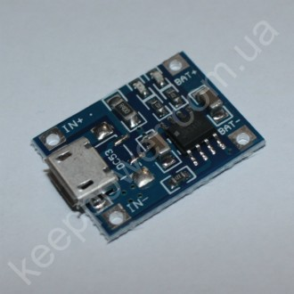 Модуль заряда  Li-ion аккумуляторов TP4056